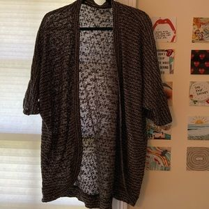 Forever 21 1/2 Sleeve Knitted Cardigan